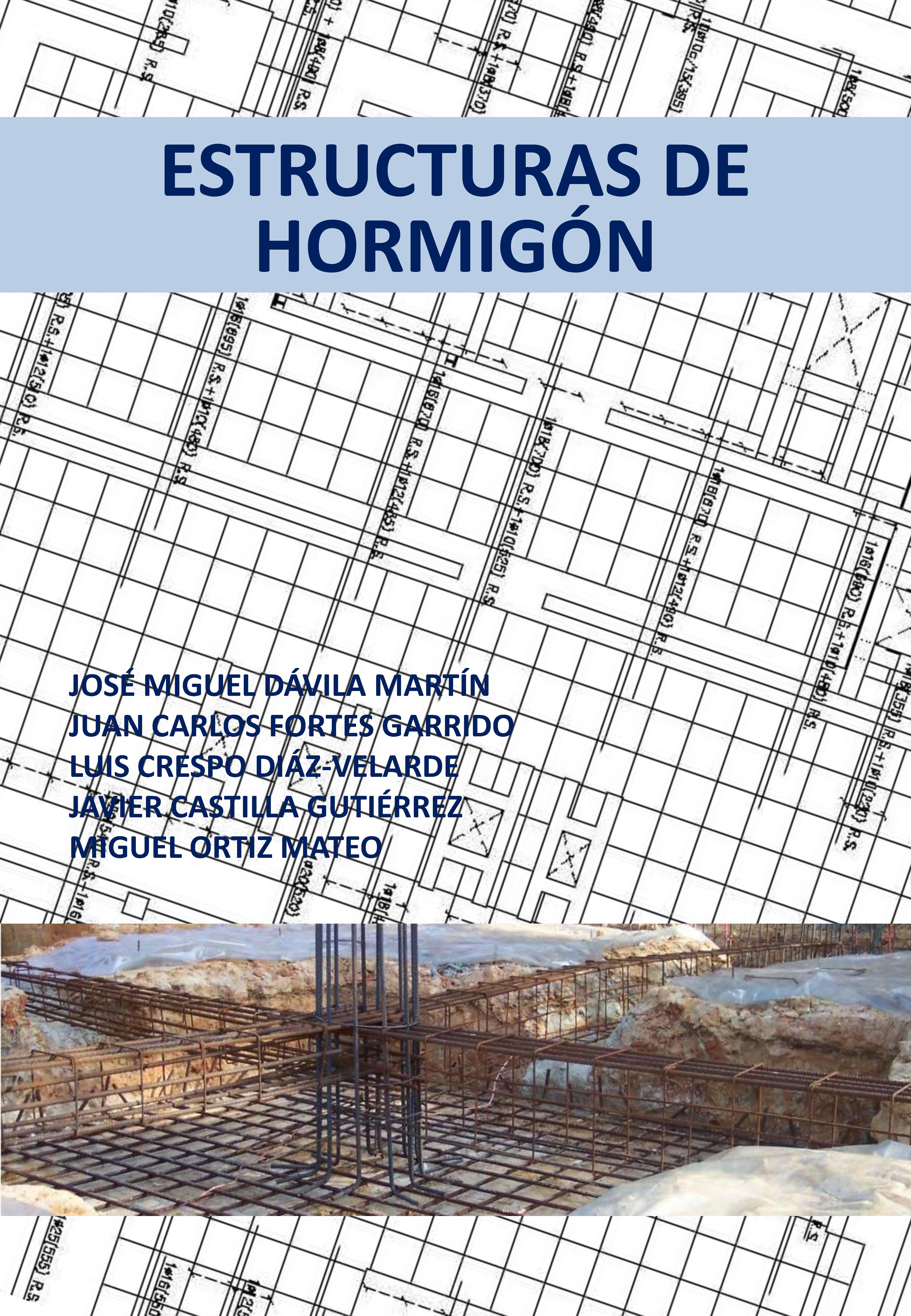 """En septiembre nuevo libro """"ESTRUCTURAS DE HORMIGÓN"""""""